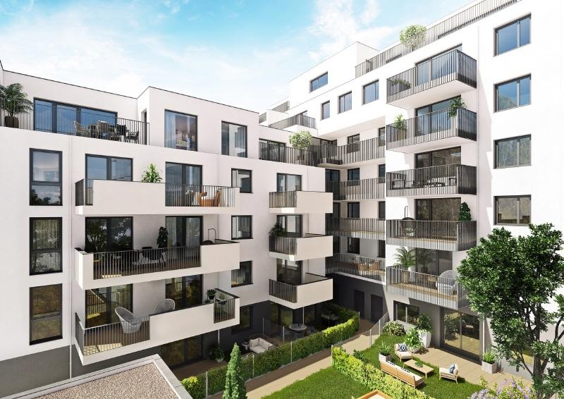 NEUBAU | Gewerbefläche im Erdgeschoß mit Freifläche (50 m²) Saltenstrasse_Hof