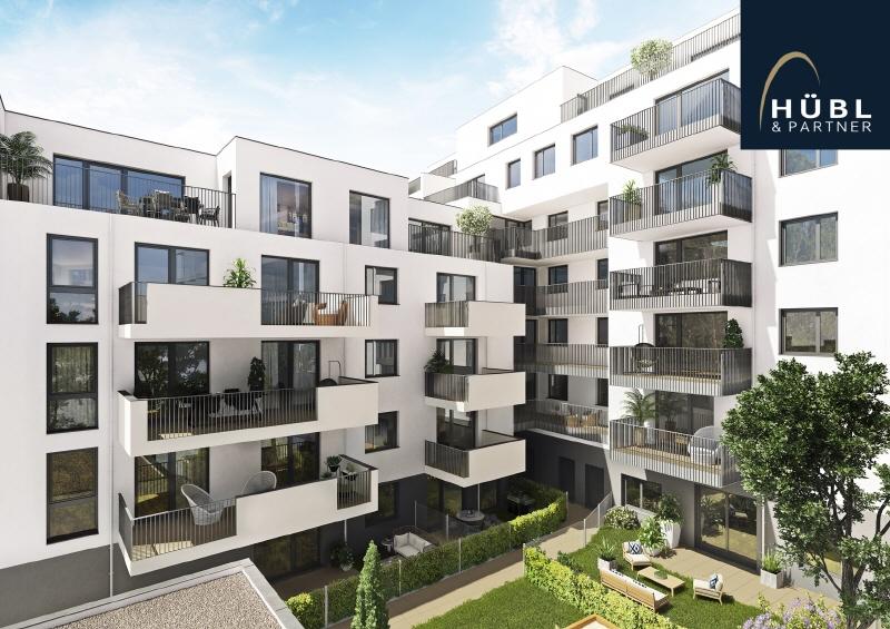 NEUBAU | Gewerbefläche im Erdgeschoß mit Freifläche (50 m²) Saltenstrasse-Ansicht-Hof