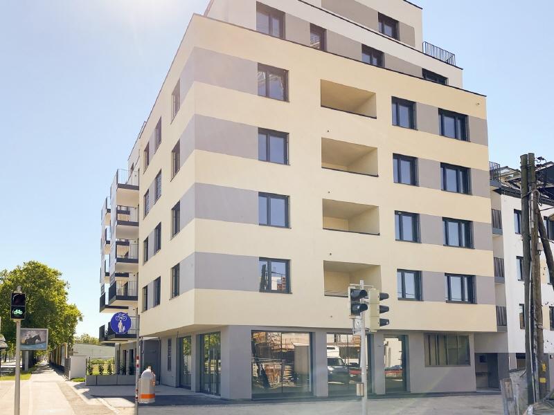 Tiefgaragenabstellplatz Groß Enzersdorferstraße 54 / Saltenstraße 1 Fassade